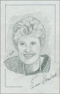 JOHN RAITT - ORIGINAL ART SIGNED CO-SIGNED BY: ERMA BOMBECK
