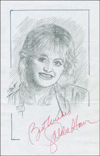 JOHN RAITT - ORIGINAL ART SIGNED CO-SIGNED BY: GOLDIE HAWN
