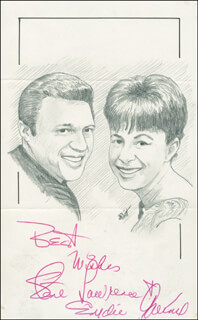 JOHN RAITT - ORIGINAL ART SIGNED CO-SIGNED BY: EYDIE GORME, STEVE LAWRENCE - HFSID 298383