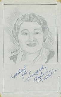 JOHN RAITT - ORIGINAL ART SIGNED CO-SIGNED BY: SOPHIE TUCKER