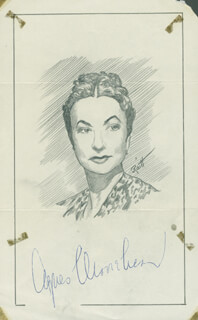 JOHN RAITT - ORIGINAL ART SIGNED CO-SIGNED BY: AGNES MOOREHEAD