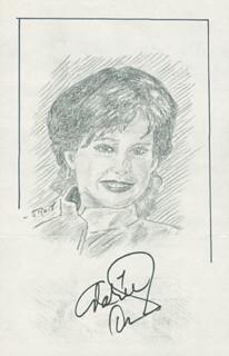 Autographs: ARLENE DAHL - ORIGINAL ART SIGNED CO-SIGNED BY: JOHN RAITT