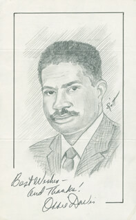 JOHN RAITT - ORIGINAL ART SIGNED CO-SIGNED BY: OSSIE DAVIS