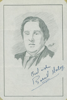 JOHN RAITT - ORIGINAL ART SIGNED CO-SIGNED BY: ROBERT MORLEY