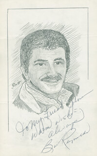 JOHN RAITT - INSCRIBED ORIGINAL ART SIGNED CO-SIGNED BY: BURT REYNOLDS