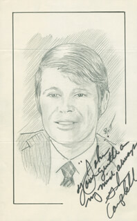 JOHN RAITT - INSCRIBED ORIGINAL ART SIGNED CO-SIGNED BY: GLEN CAMPBELL