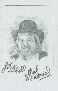 JOHN RAITT - ORIGINAL ART SIGNED CO-SIGNED BY: MEL McDANIEL