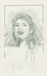 JOHN RAITT - ORIGINAL ART SIGNED CO-SIGNED BY: AMY GRANT