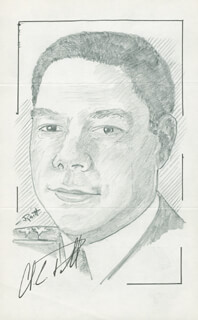 Autographs: GENERAL COLIN L. POWELL - ORIGINAL ART SIGNED CO-SIGNED BY: JOHN RAITT