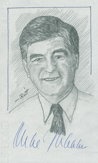 JOHN RAITT - ORIGINAL ART SIGNED CO-SIGNED BY: GOVERNOR MICHAEL DUKAKIS