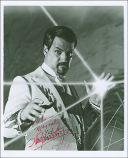 HARRY BLACKSTONE JR. - AUTOGRAPHED INSCRIBED PHOTOGRAPH 01/04/1988