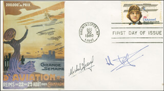 HELENE DORIGNY - FIRST DAY COVER SIGNED CO-SIGNED BY: MICHEL ARNOULD