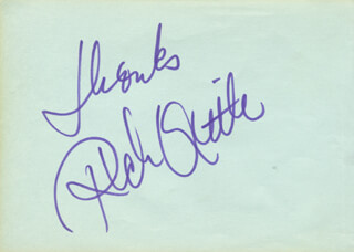 RICH LITTLE - AUTOGRAPH SENTIMENT SIGNED CO-SIGNED BY: JAMES BEST