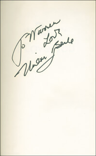 MILTON BERLE - INSCRIBED BOOK SIGNED