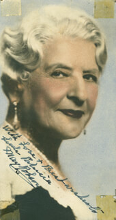 MAY ROBSON - AUTOGRAPHED INSCRIBED PHOTOGRAPH