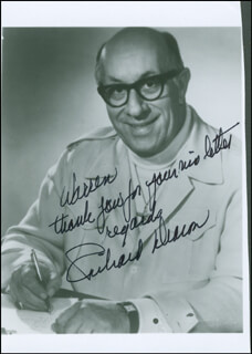 RICHARD DEACON - AUTOGRAPHED INSCRIBED PHOTOGRAPH
