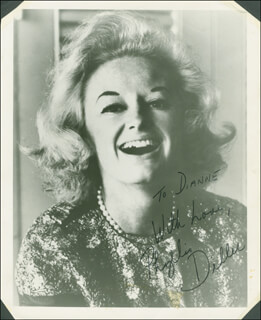 PHYLLIS DILLER - AUTOGRAPHED INSCRIBED PHOTOGRAPH