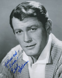 EARL HOLLIMAN - AUTOGRAPHED SIGNED PHOTOGRAPH