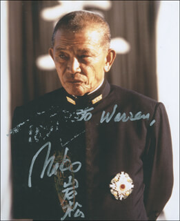 MAKO - AUTOGRAPHED INSCRIBED PHOTOGRAPH