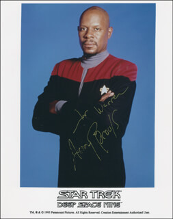 AVERY BROOKS - AUTOGRAPHED INSCRIBED PHOTOGRAPH