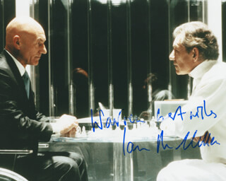 IAN MCKELLEN - AUTOGRAPHED INSCRIBED PHOTOGRAPH