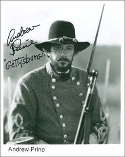 ANDREW PRINE - AUTOGRAPHED SIGNED PHOTOGRAPH