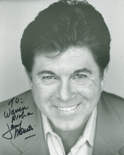 LARRY MANETTI - AUTOGRAPHED INSCRIBED PHOTOGRAPH