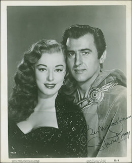 STEWART GRANGER - AUTOGRAPHED INSCRIBED PHOTOGRAPH