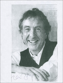 ERIC IDLE - PRINTED PHOTOGRAPH SIGNED IN INK