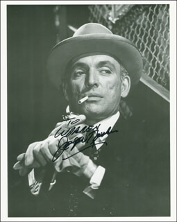 JOSEPH RUSKIN - AUTOGRAPHED INSCRIBED PHOTOGRAPH