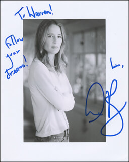 ANNE RAMSAY - AUTOGRAPHED INSCRIBED PHOTOGRAPH