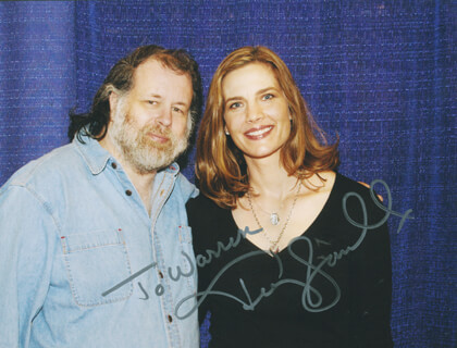 TERRY FARRELL - AUTOGRAPHED INSCRIBED PHOTOGRAPH