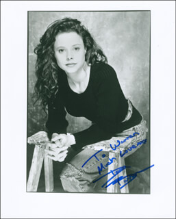DANA BARRON - AUTOGRAPHED INSCRIBED PHOTOGRAPH
