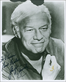 GEORGE KENNEDY - AUTOGRAPHED INSCRIBED PHOTOGRAPH