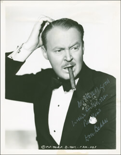 DON BEDDOE - AUTOGRAPHED INSCRIBED PHOTOGRAPH