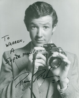MARC McCLURE - AUTOGRAPHED INSCRIBED PHOTOGRAPH