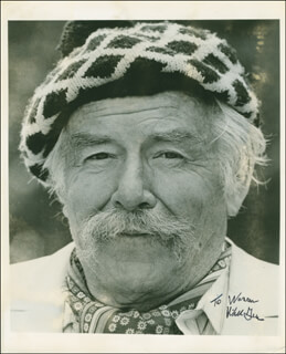 WILL A. GEER - AUTOGRAPHED INSCRIBED PHOTOGRAPH