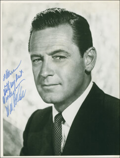 WILLIAM HOLDEN - AUTOGRAPHED INSCRIBED PHOTOGRAPH