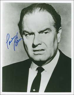 PARLEY BAER - AUTOGRAPHED SIGNED PHOTOGRAPH