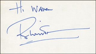 ROGER WHITTAKER - INSCRIBED SIGNATURE