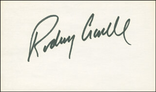 RODNEY CROWELL - AUTOGRAPH