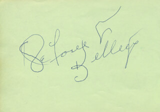 DEFOREST KELLEY - AUTOGRAPH CO-SIGNED BY: HUME CRONYN