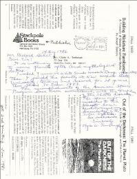 CLYDE WILLIAM TOMBAUGH - AUTOGRAPH LETTER SIGNED 08/14/1986