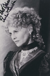 JULIE CHRISTIE - AUTOGRAPHED SIGNED PHOTOGRAPH CIRCA 2009