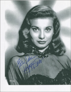 PEGGY DOW - AUTOGRAPHED INSCRIBED PHOTOGRAPH