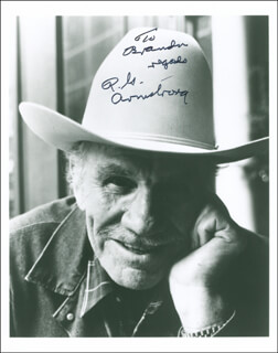 R. G. (ROBERT GOLDEN) ARMSTRONG - AUTOGRAPHED INSCRIBED PHOTOGRAPH
