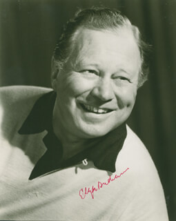EDGAR BUCHANAN - AUTOGRAPHED SIGNED PHOTOGRAPH