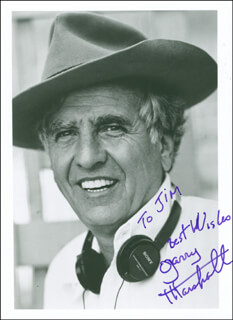 GARRY MARSHALL - AUTOGRAPHED INSCRIBED PHOTOGRAPH
