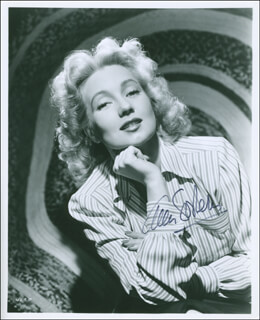 ANN SOTHERN - AUTOGRAPHED SIGNED PHOTOGRAPH