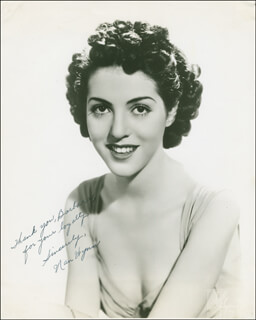 NAN WYNN - AUTOGRAPHED INSCRIBED PHOTOGRAPH